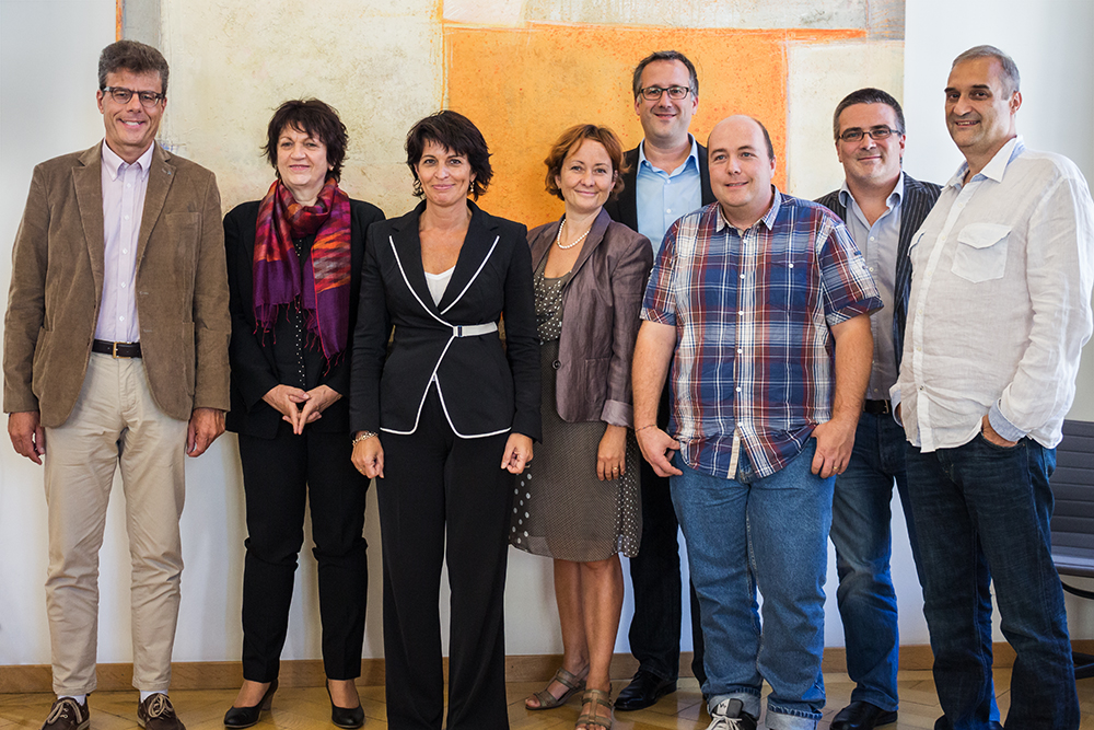 Unprecedented meeting with Doris Leuthard – Bern – Palais fédéral